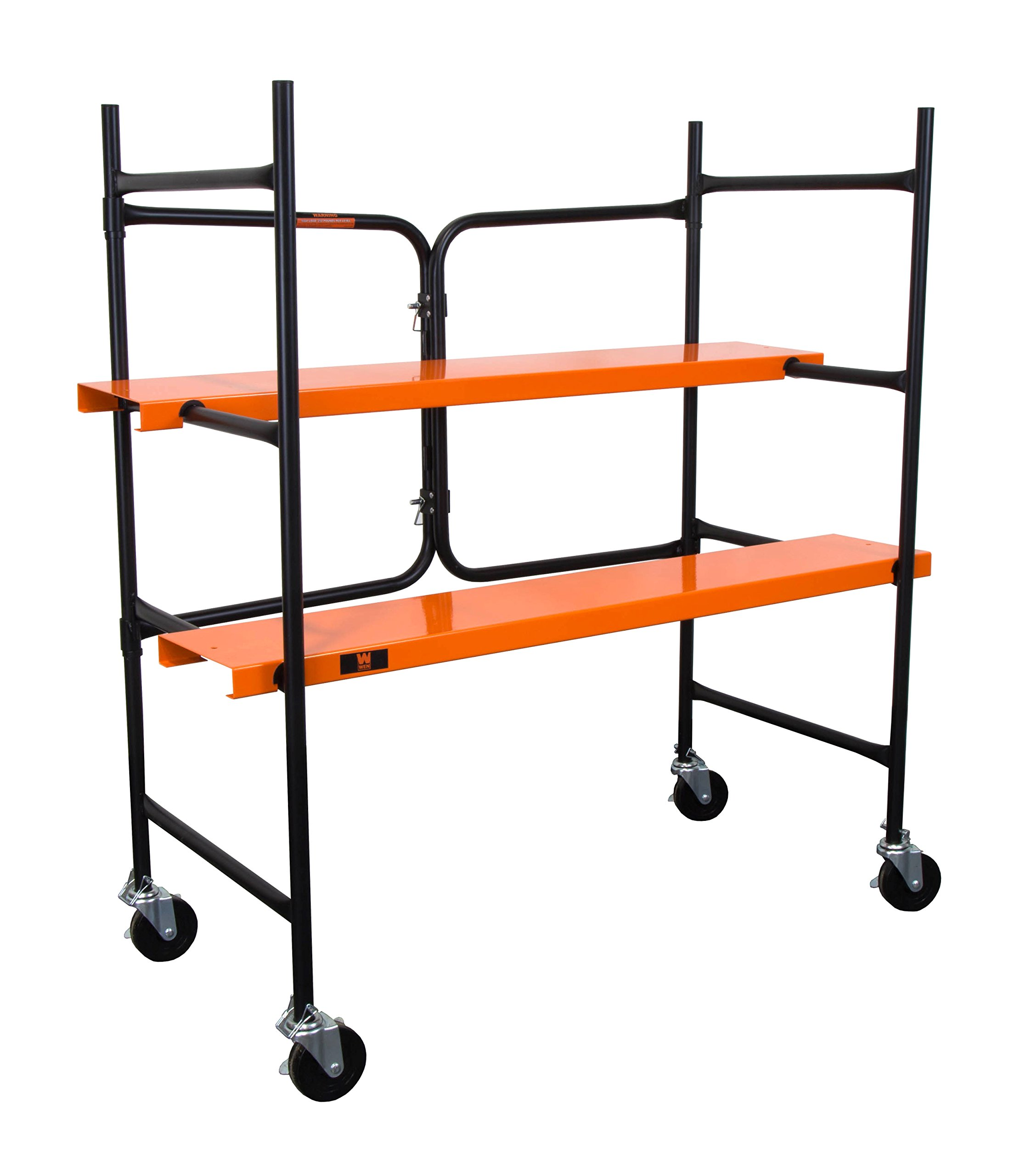 WEN 31105 500 lb Capacity Collapsible Rolling Scaffolding