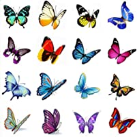 Hot Selling Men And Women Temporary Tattoos Waterproof Stickers Butterfly-A388