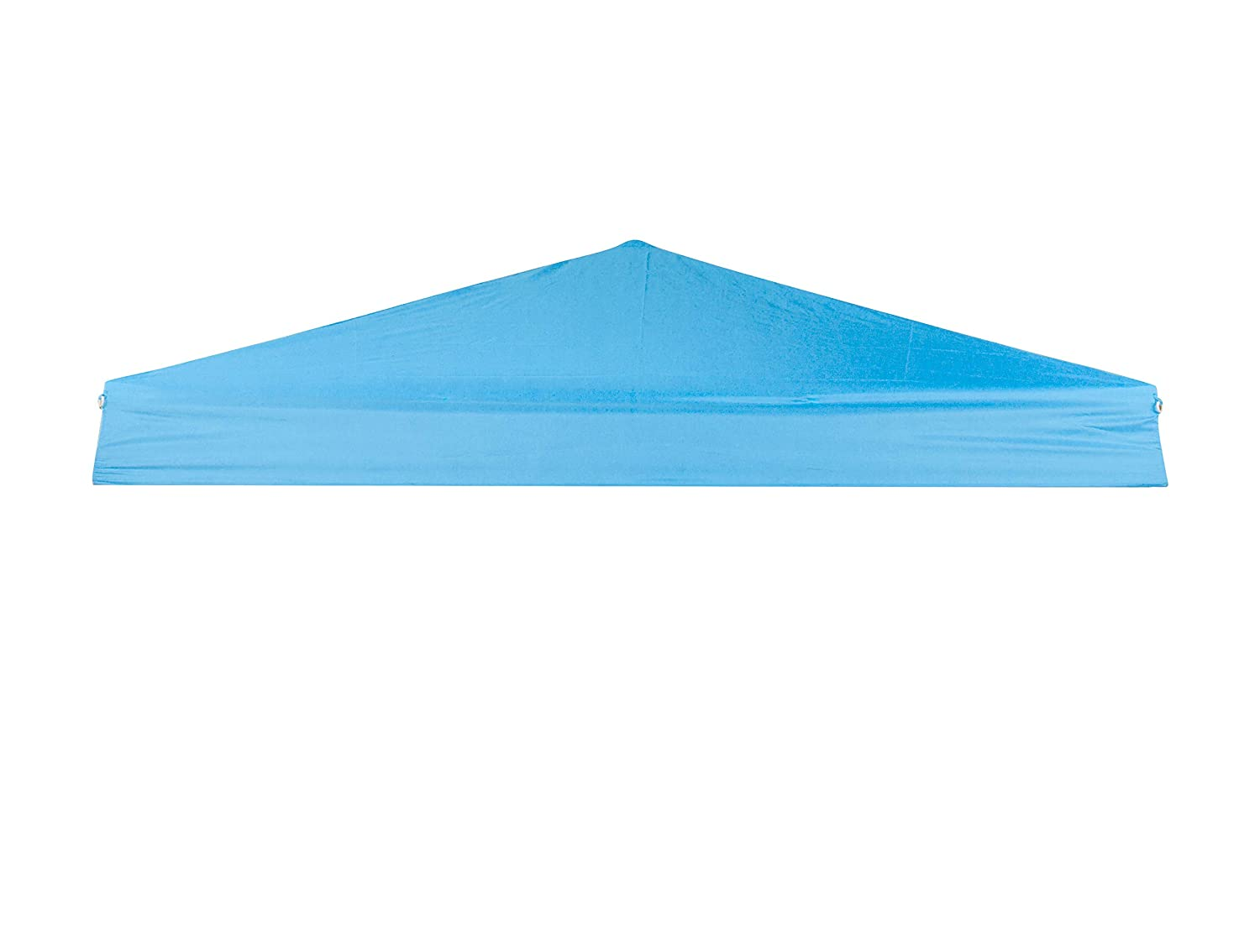 Trademark Innovations Square Replacement Canopy Gazebo Top for 10' Slant Leg Canopy, 8 by 8', Black 8 by 8' SLANTOP-10BL