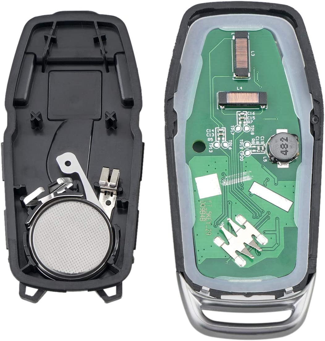 with Insert Key Smart Prox Replacement Keyless Entry Remote Fob for Lincoln FCC ID M3N A2C31243300 P//N 164-R8106