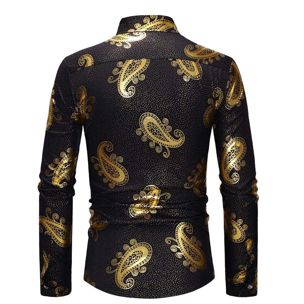 I Like it New Dude Men/'s Long Sleeve Autumn Winter Painting Large Size Casual Top Blouse Shirts 2019 Hot