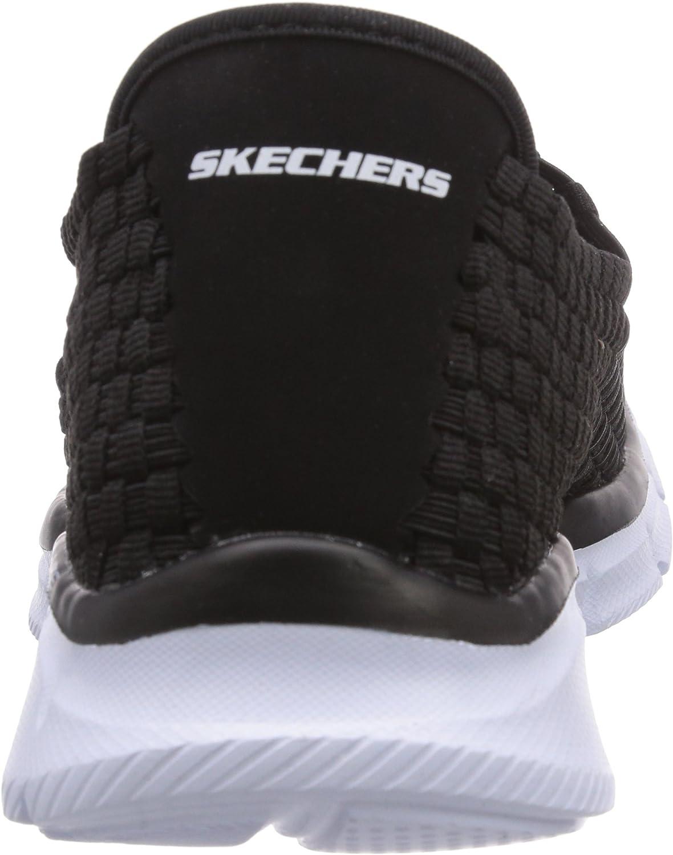 Skechers Equalizer Familiar, Mocassini Uomo, Nero (Nero
