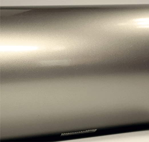 Motorrad und Modellbau Zierstreifen in 40 mm Breite und 10 Meter L/änge f/ür Auto Boot Silber