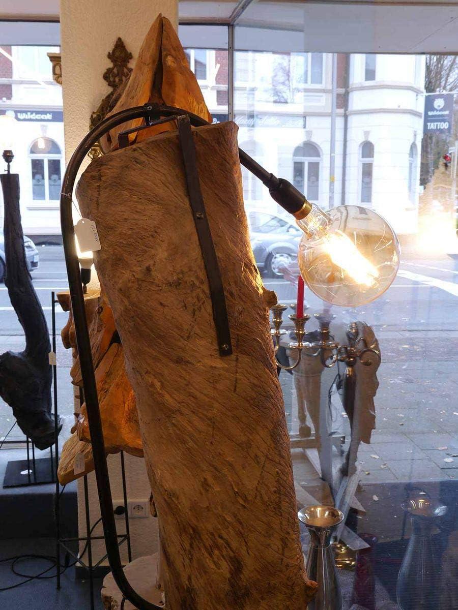 Antike Fundgrube Standleuchte Stehleuchte Stehlampe Baumstamm 1