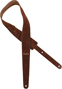 Taylor Guitars Chocolate Suede Strap