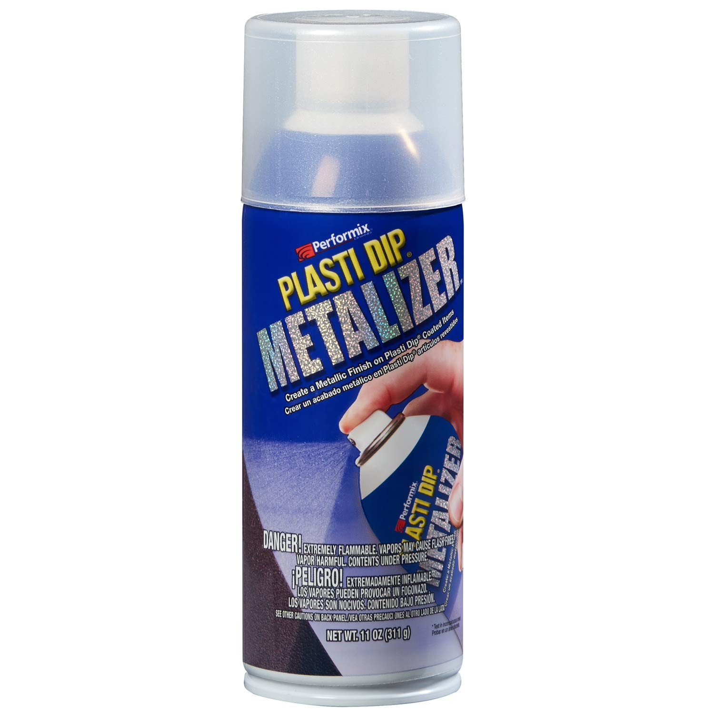 Plasti Dip Performix 11210-6PK Spray Silver Metalizer, 11. Fluid_Ounces