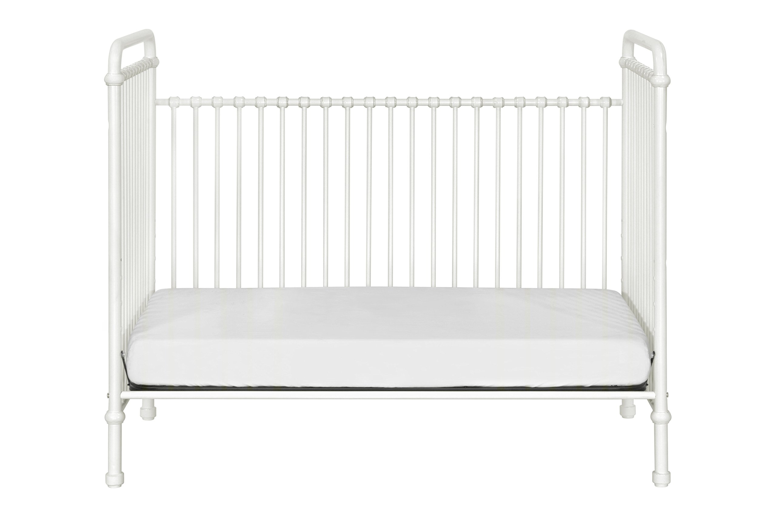 Million Dollar Baby Classic Abigail 3-in-1 Convertible Iron Crib,  Washed White by Million Dollar Baby Classic (Image #11)
