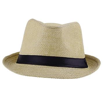 EOZY Sombrero De Sol Paja Playa Panama Gorra Deporte Para Hombre Mujer 0aeff5a397a