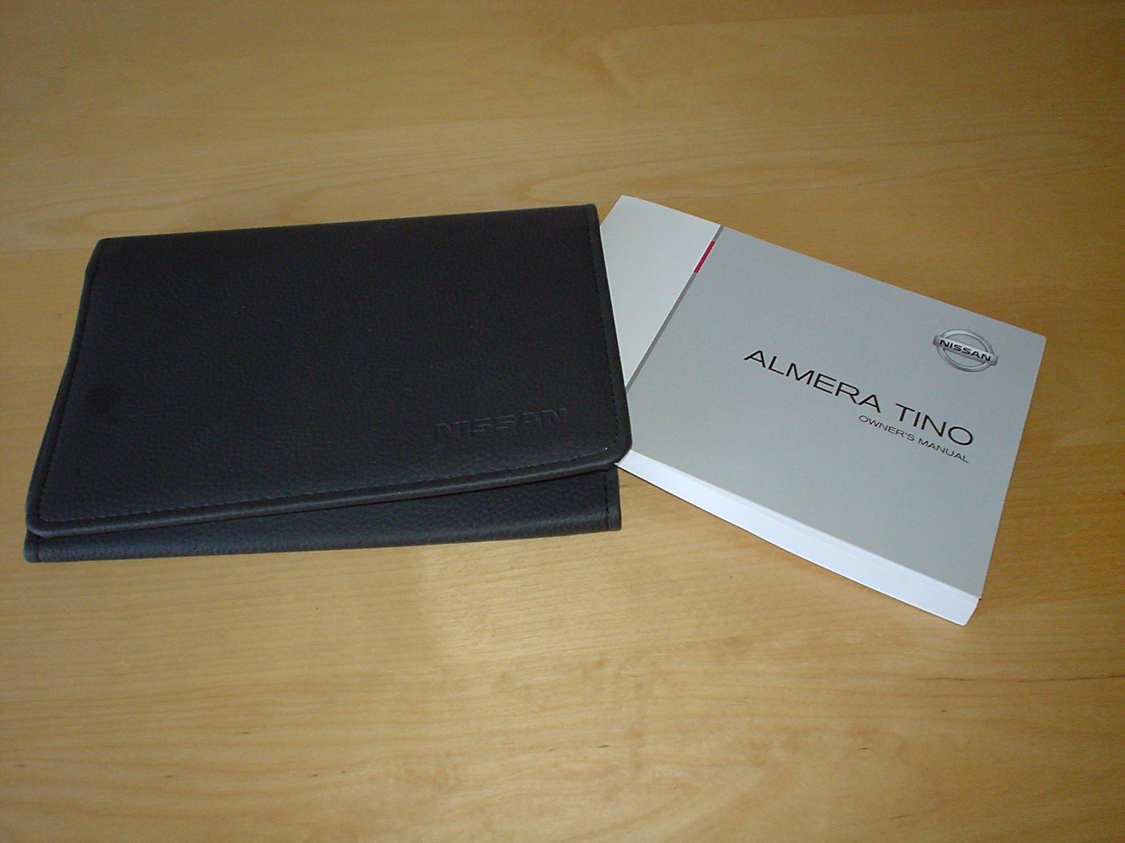 nissan almera tino owners manual handbook 2000 2006 1 8 2 0 rh amazon co uk 2000 Nissan Sentra 2000 Nissan Sentra
