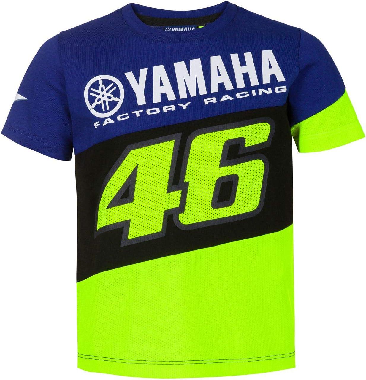 Valentino Rossi Junior T Shirt Vr46 Motogp M1 Yamaha Offizielle 2020 Bekleidung