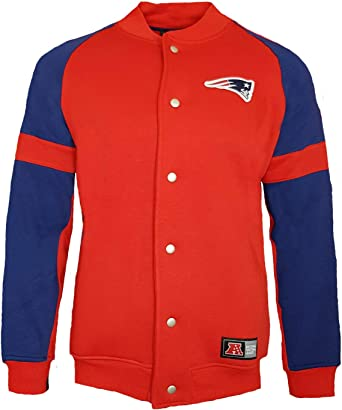 Majestic Athletic NFL New England Patriots Fleece Letterman