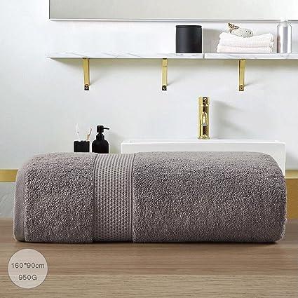 ZLR Toalla de baño grande de algodón sólido toallas grandes adultos engrosamiento fuerte toalla de baño