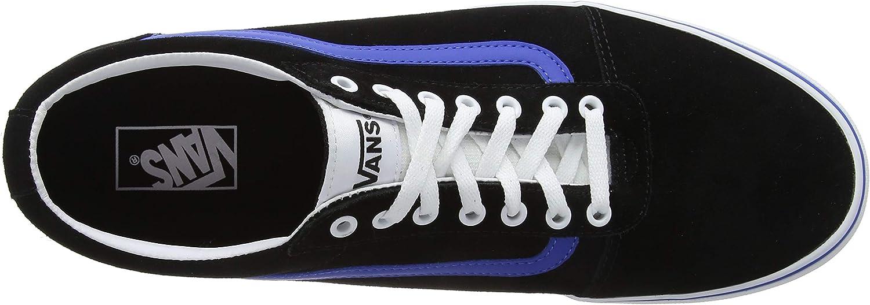 Vans Herren Ward Suede Sneaker, blau