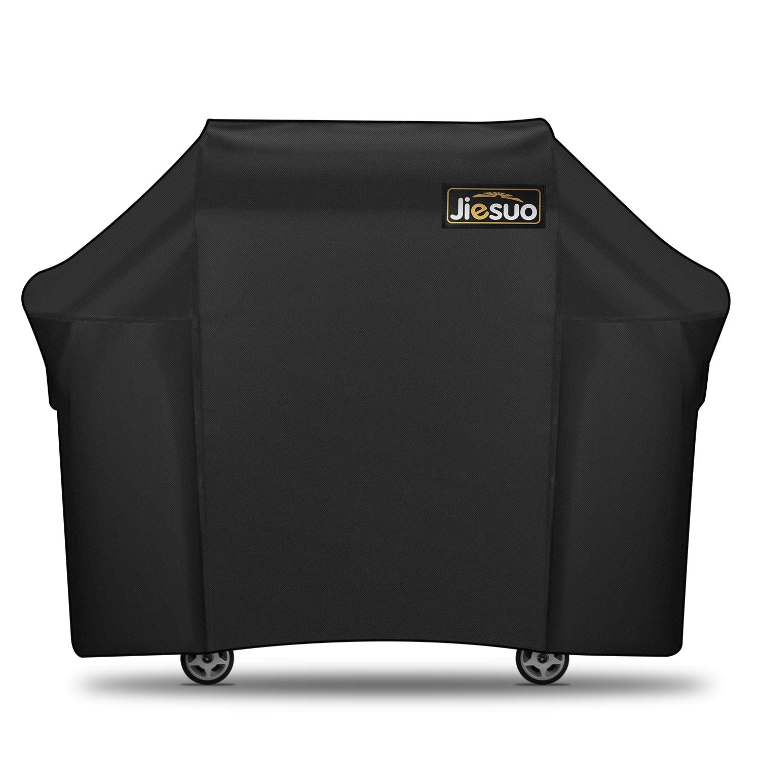 BBQ Gas Grill Cover for Weber Genesis: Heavy Duty Waterproof 60 Inch 3 Burner Weather Resistant Ripstop UV Resistant Outdoor Barbeque Grill Covers By JIESUO