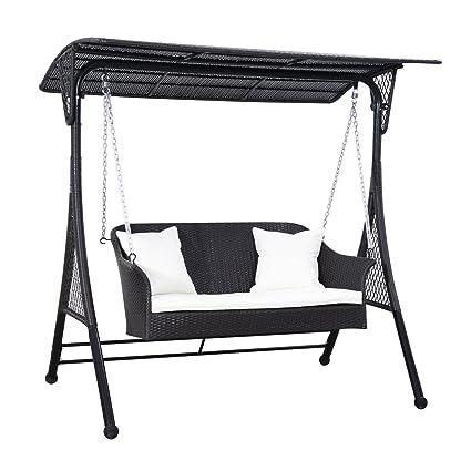 Amazon.com: Outsunny – Balancín de silla de asiento doble de ...