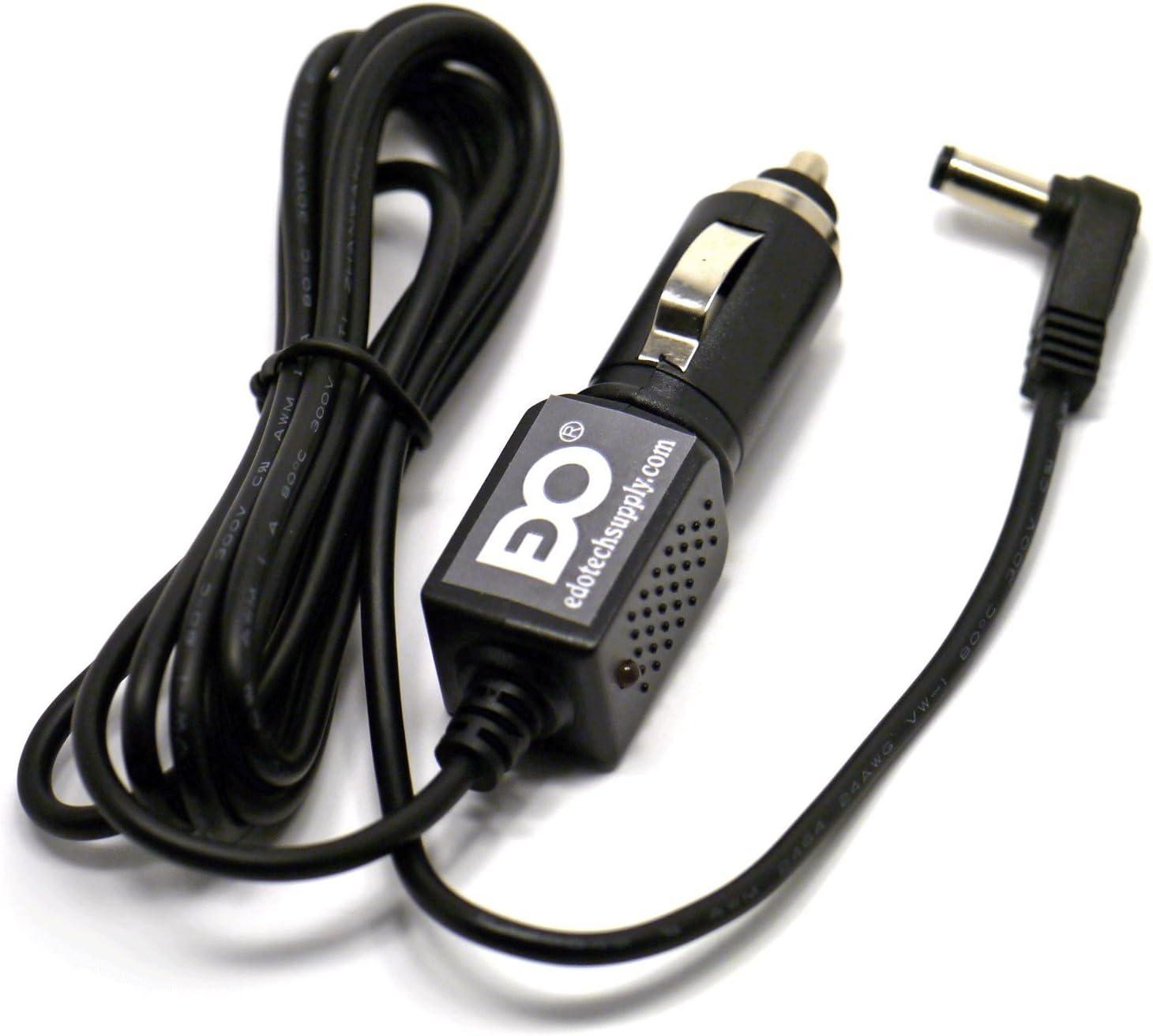 EDO Tech 12V DC Car Charger Power Adapter Cord for Garmin Street Pilot C310 C320 C330 C340 GPS System