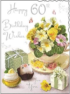 Female 60th Birthday Card JJ V286
