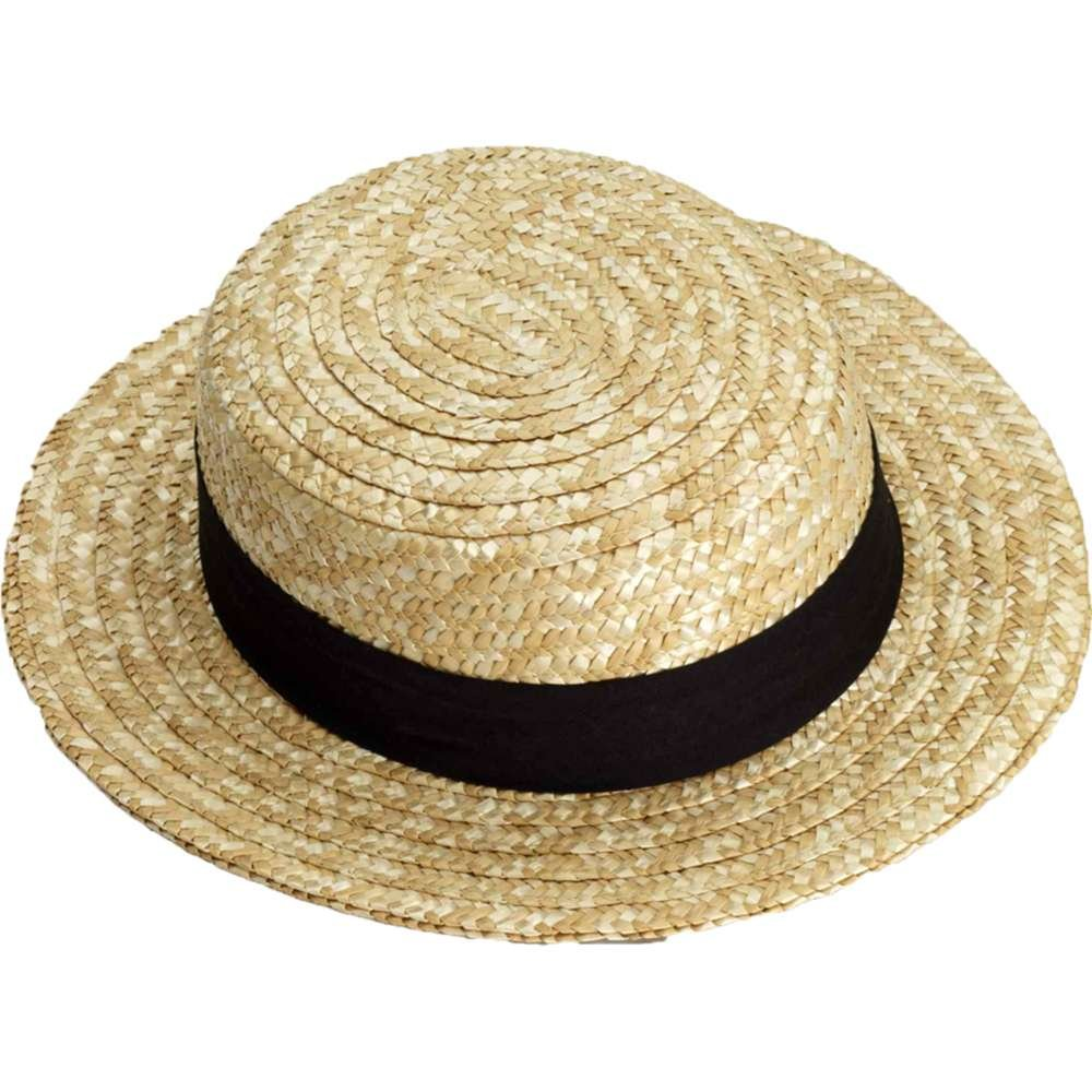 Forum Novelties Straw Skimmer Hat Inc