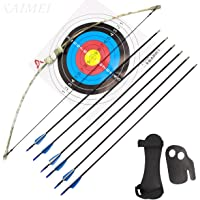 17250361097 kaimei 37Inch Archery Bow and Arrow Set Recurve Bow camouflage Outdoor  Sports Game Hunting Training Toy