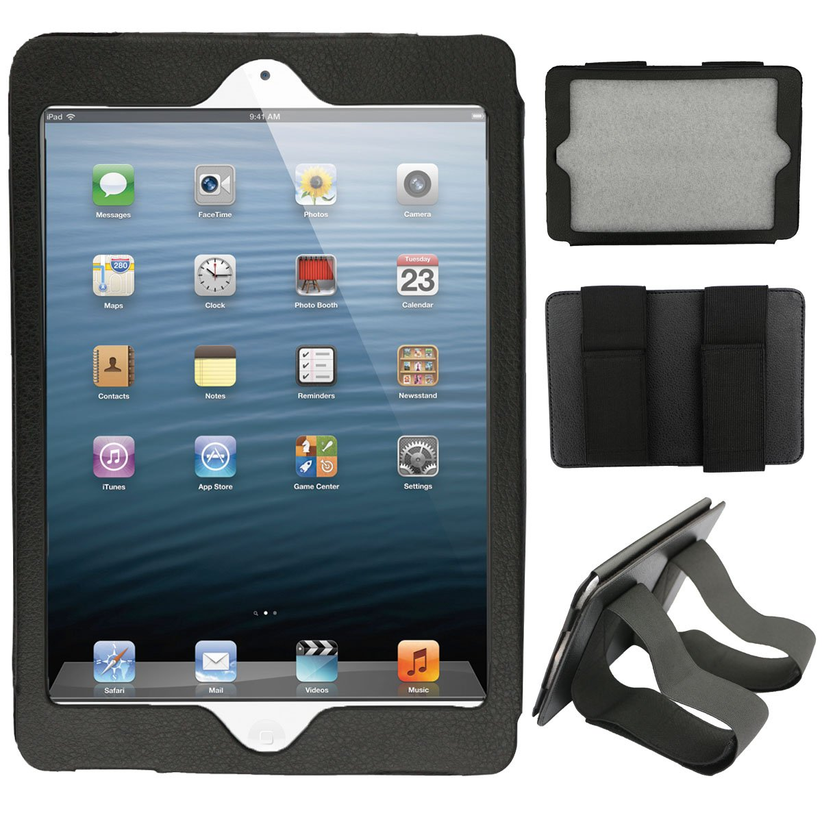 Car Headrest Mount Mounting Holder for iPad Mini 1 2 3 Protect Case 7.9 Inch B/&K Company