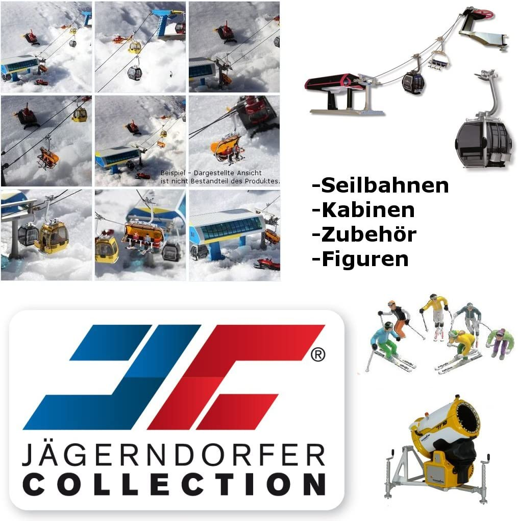 Multi-Color Jaegerndorfer JaegerndorferJC86400 6 Seater Armchair Yellow//Blue 1:32 Scale