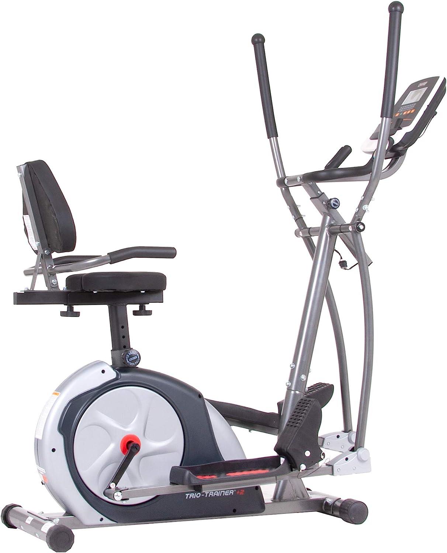 Body Champ 3-in-1 Exercise Machine, Trio Trainer Plus Two