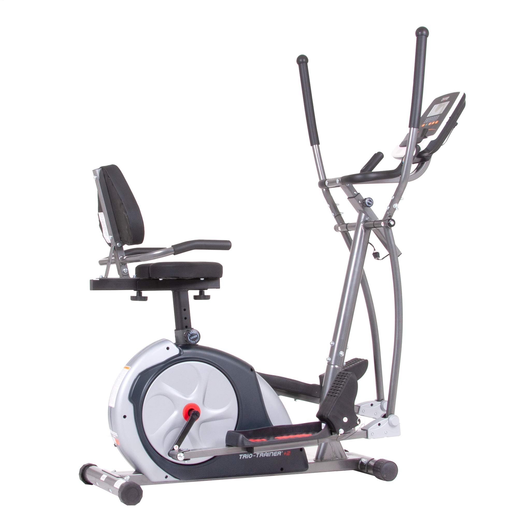 Body Champ 3-in-1 Trio Trainer Plus Two, Silver by Body Champ