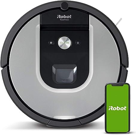 iRobot Roomba 971 - Robot aspirador, aspiración de alta potencia, recarga y sigue la limpieza, óptimo para mascotas, compatible con Tecnología de Coordinación Imprint, compatible con asistentes de voz: Amazon.es: Hogar
