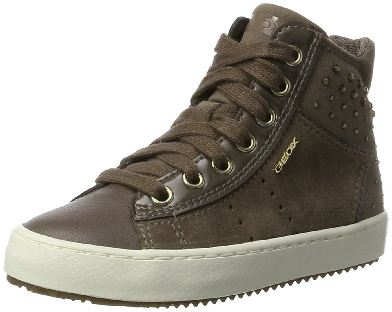 9e15a89301f54a Geox J Kalispera Girl E Hi-Top Trainers: Amazon.co.uk: Shoes & Bags