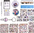 Fatyi Seventeen Gift Set for Lomo Card, Sticker, 3D Sticker, Mirror, Notebook, Keychain, Tape, Badge, Banner and Phone Stand