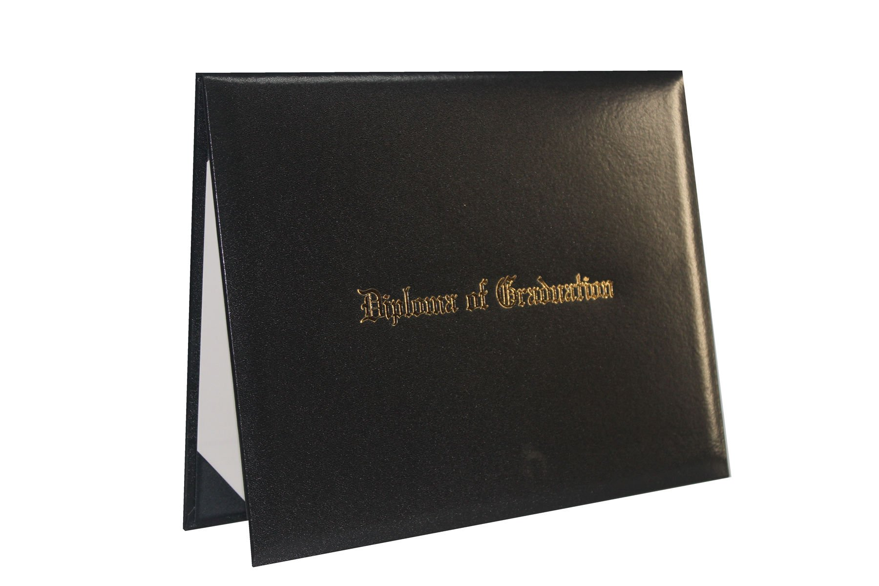 GraduationForYou Smooth Imprinted ''Diploma Of Graduation'' Certificate Cover 8 1/2'' x 11''