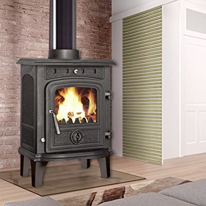 Pleasant Lincsfire New Greetwell 4 5Kw Cast Iron Log Burner Download Free Architecture Designs Salvmadebymaigaardcom