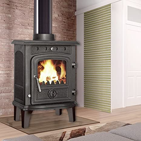 lincsfire nueva Greetwell - 4,5 kW hierro fundido quemador ...