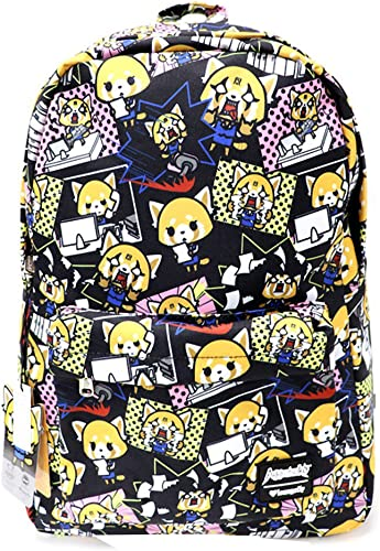 Loungefly x Aggretsuko Print Nylon Backpack One Size
