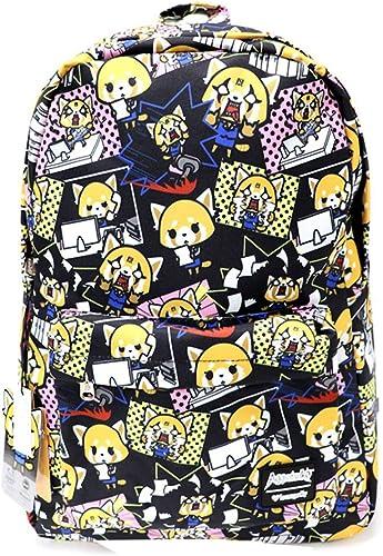 Loungefly x Aggretsuko Print Nylon Backpack One Size, Multi