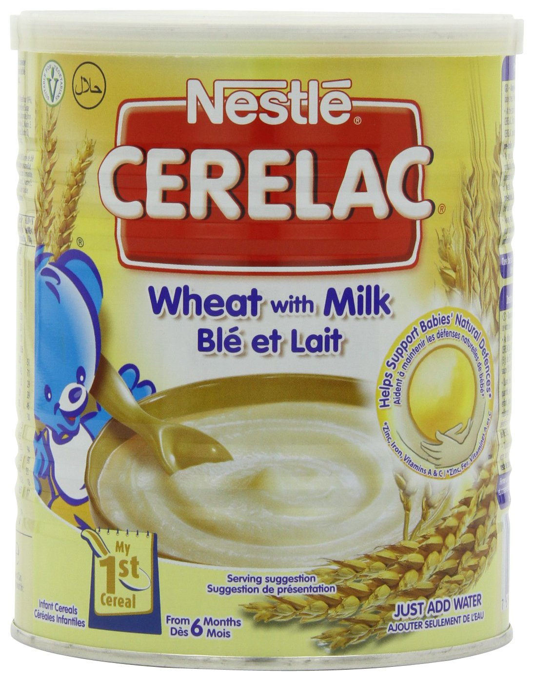 Nestl Cerelac Infant Cereals Wheat 400 g (Pack of 4) Nestle C01