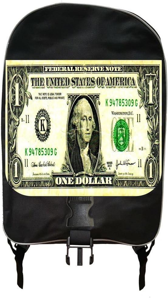 Dollar Bill Print Design Backpack