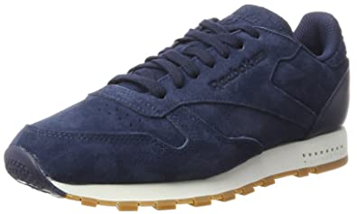 eb5642cf8e2 Reebok Men s s Classic Leather Sg Low-Top Sneakers  Amazon.co.uk ...