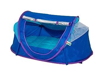 ludi tente nomade bleue pour bb ds la naissance lit - Lit Nomade Bebe