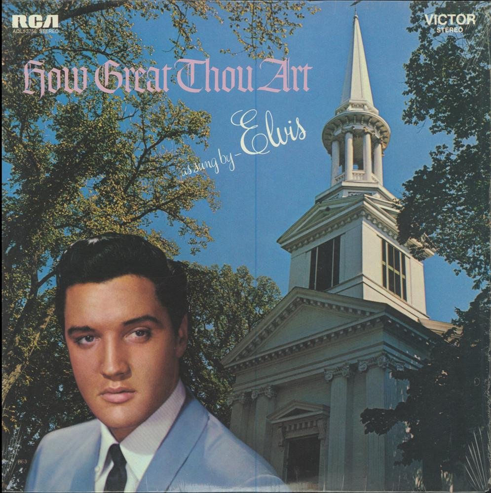 How Great Thou Art as Sung By Elvis RCA Victor Stereo Reissue RE-1 by RCA Victor
