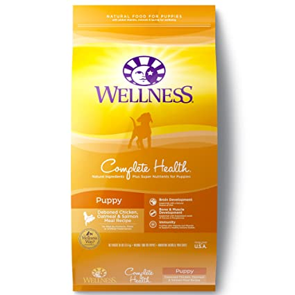 Wellness Complete Health Natural Dry Puppy Food Chicken Salmon
