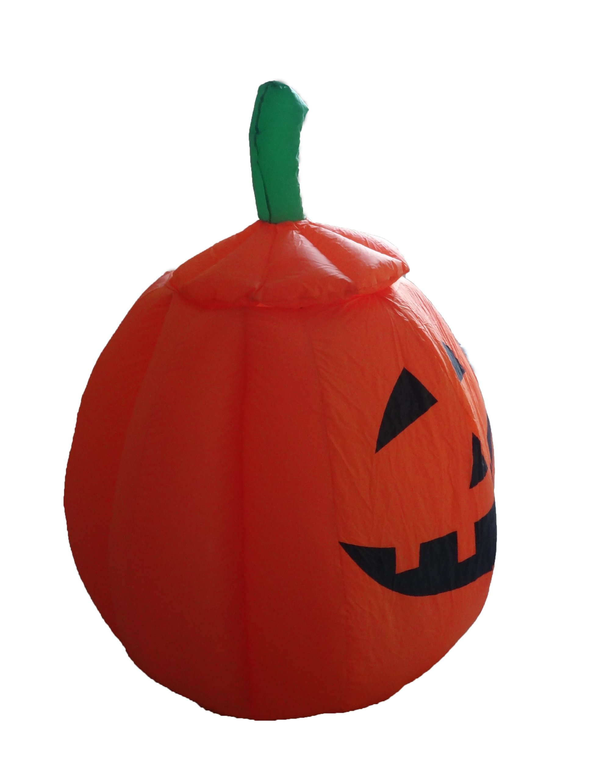BZB Goods 4 Foot Animated Halloween Inflatable Pumpkin and Ghost Yard Garden Decoration