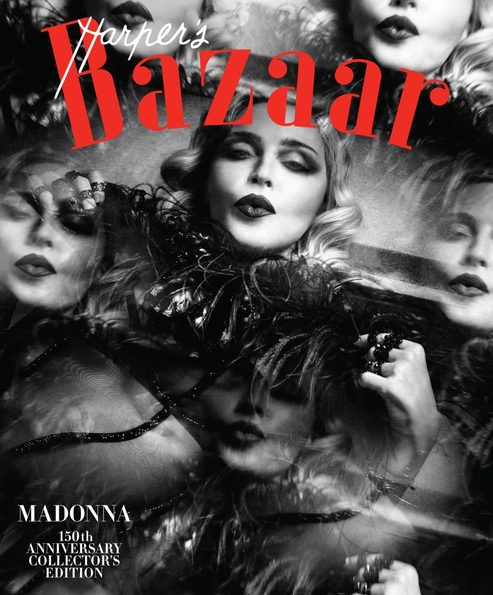Image result for MADONNA HARPER'S COVER COLLECTIBLE