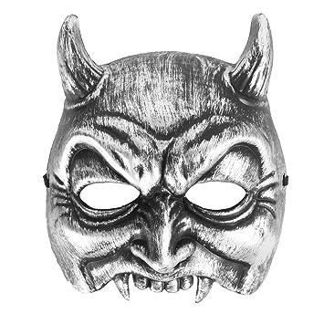 bestoyard marshmallow  : BESTOYARD Halloween Ghost Face Mask Horrible Cosplay ...