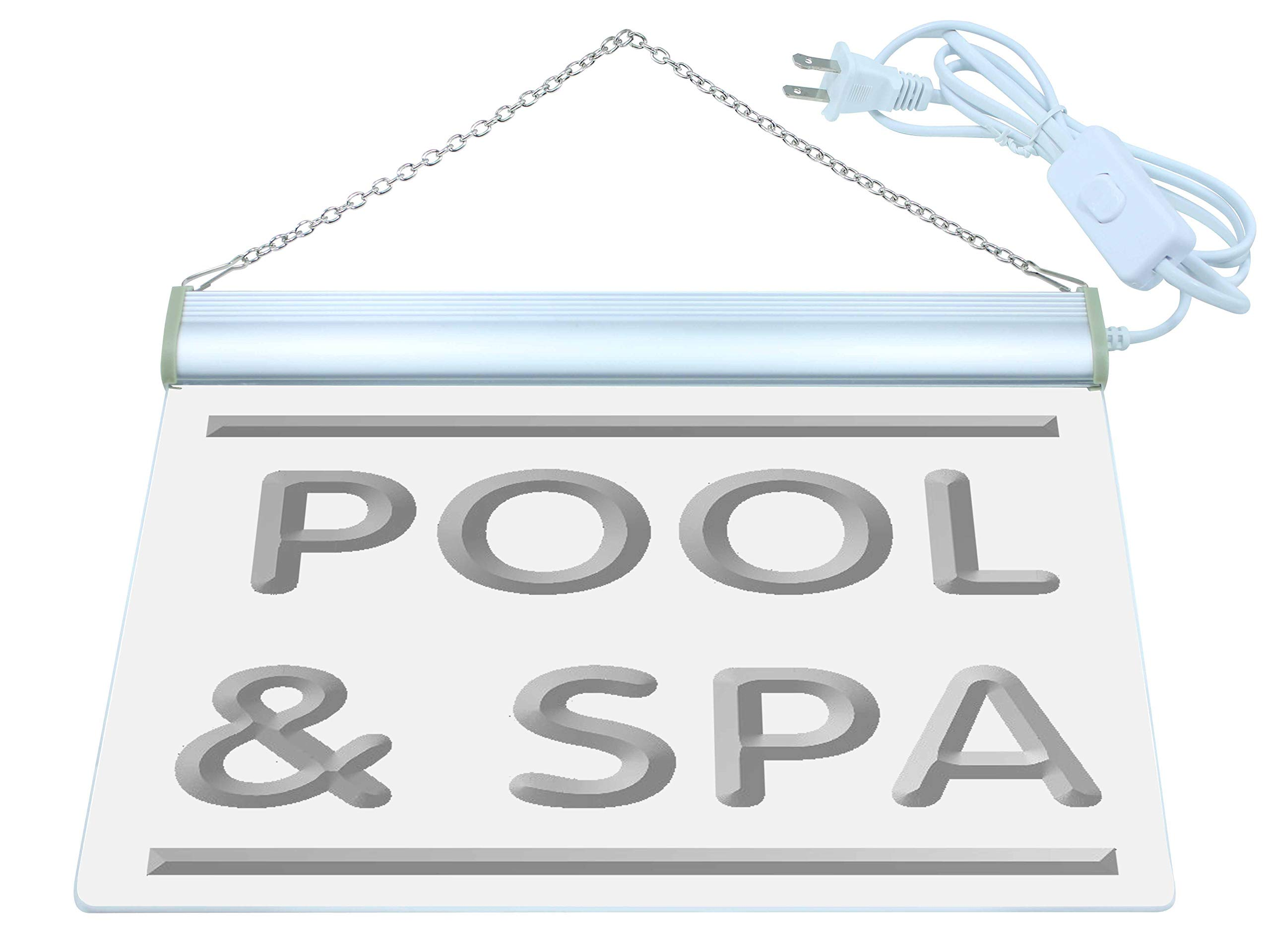 ADV PRO i609-b Pool & Spa Beauty Shop Salon Neon Light Sign by AdvPro Sign (Image #3)