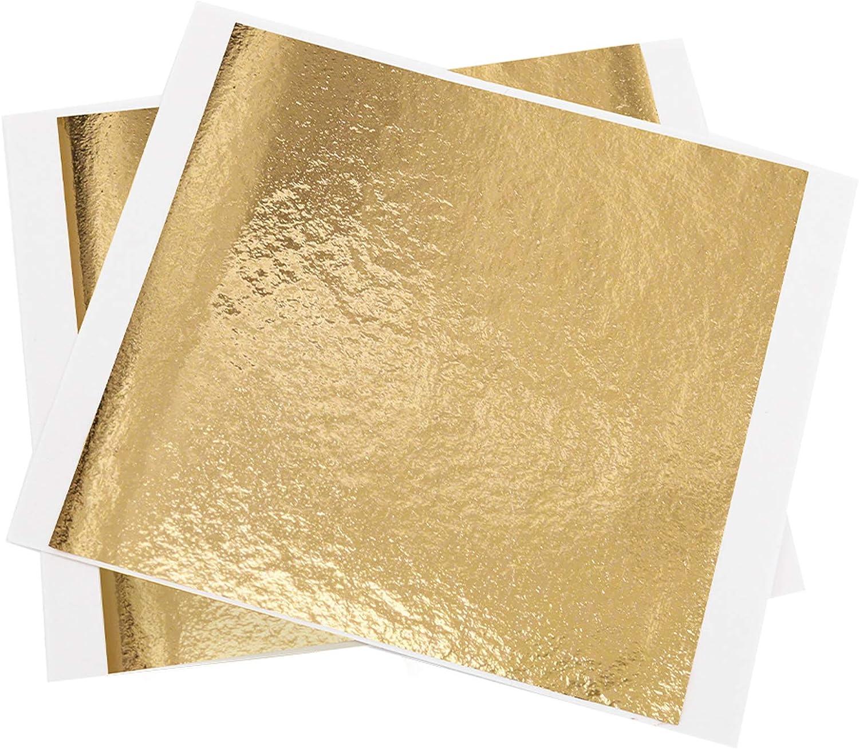 KINNO Gold Leaf Sheets, 5.11