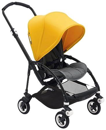 Amazon.com : Bugaboo Bee5 Complete Stroller, Black/Sunrise Yellow ...