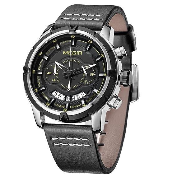 d0923af89437 Reloj - Megir - Para - MG-2047G  Amazon.es  Relojes
