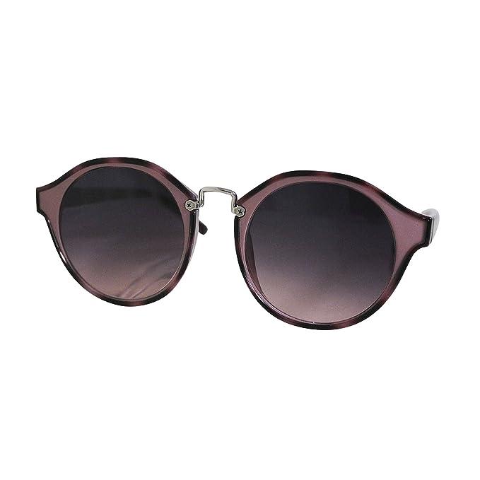 a471ec1261 Leopardo De Mujer Pasta Redondas Rosa Metal Fereti Redondo Gafas Sol AL354Rj