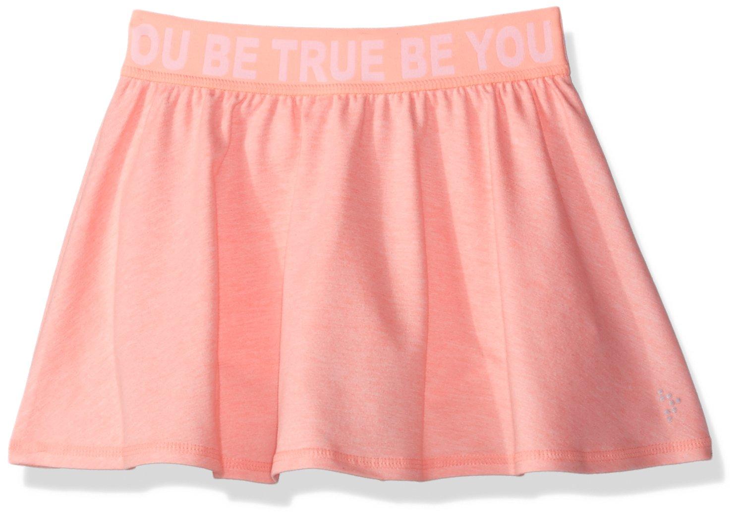 Gymboree Little Girls' Active Knit Skort, Pink/Beige True BE You, XL